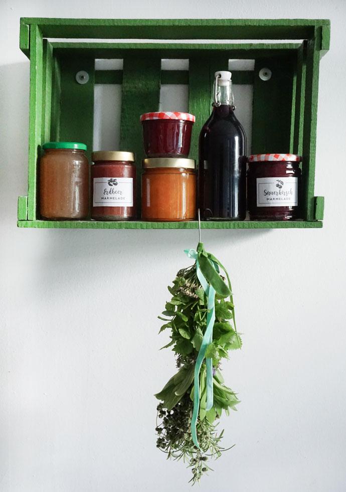 Trockenkräuter Bündel DIY Bastel Anleitung
