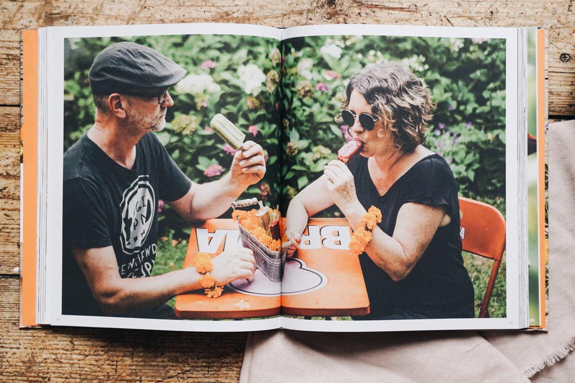 Blüten-Genuss Tafel und Teller Autoren Anja und Andreas