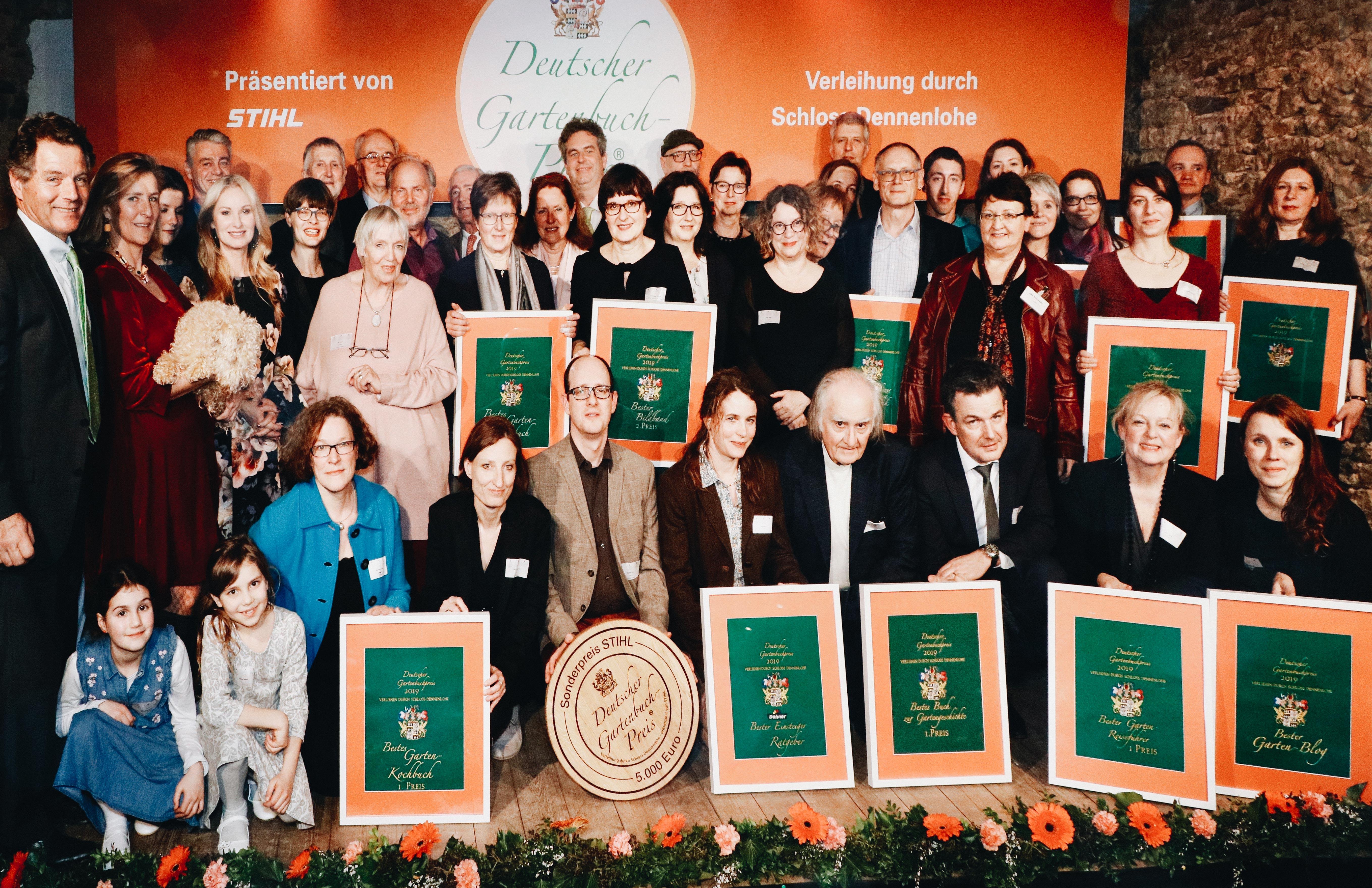 Deutscher Gartenbuchpreis Dennelohe Gruppenbild