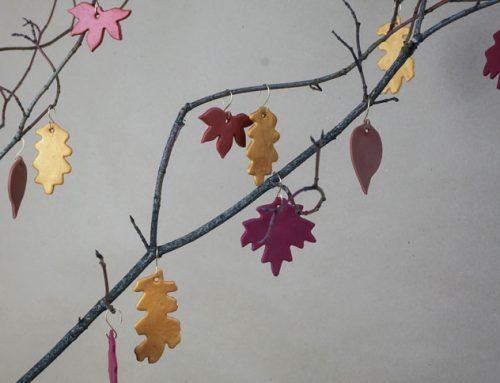 Schnelles Herbst-DIY aus Fimo