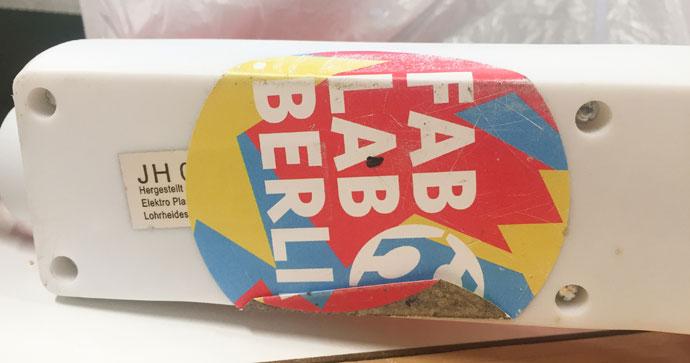 Fab Lab Berlin. Hier bekommst du Hilfe, wenn Du ein Feinstaub-Meßgerät selber bauen möchtest.