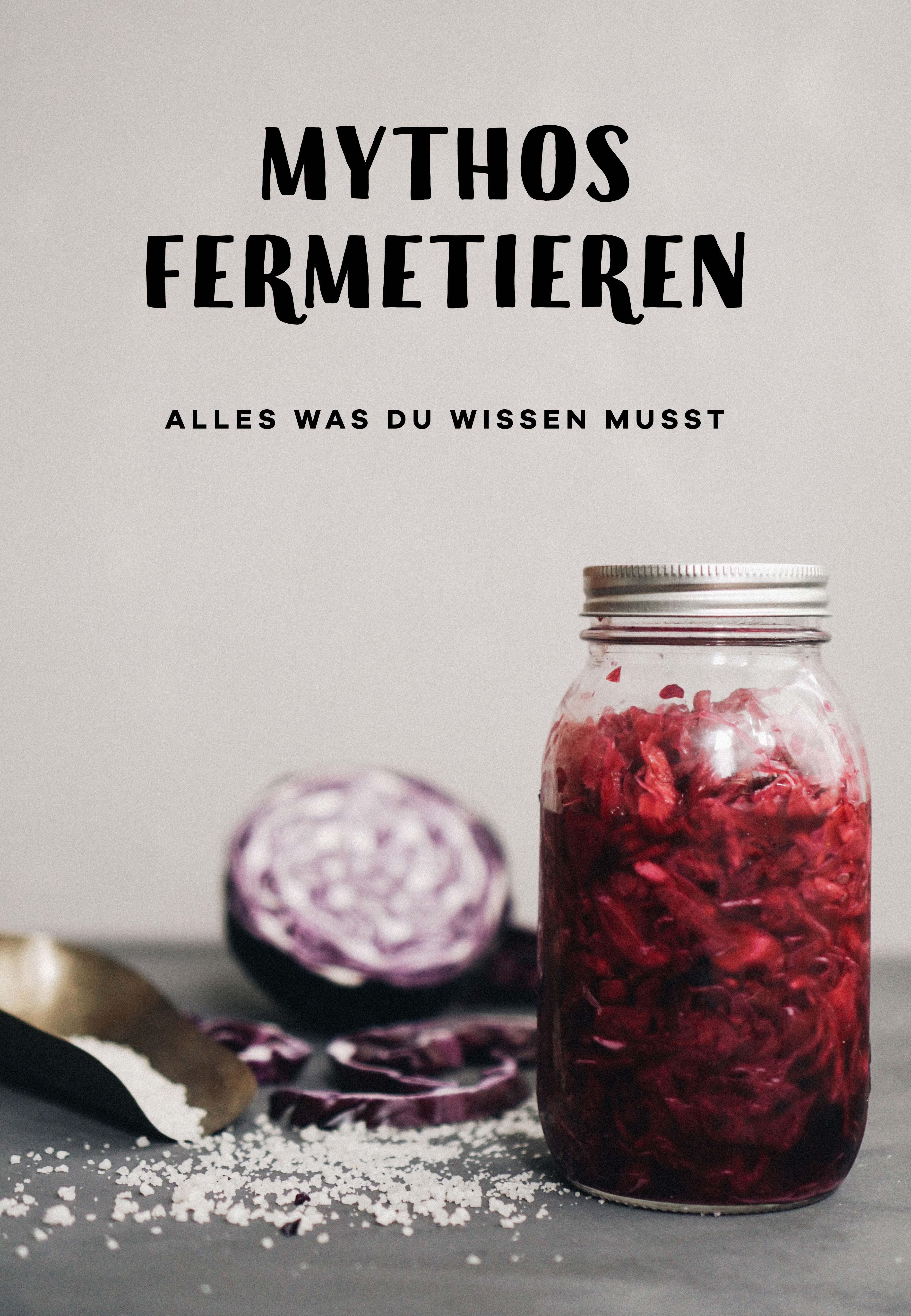 Gemüse fermentieren und haltbar machen. Eine Anleitung, wie Du Sauerkraut und Co. selber machen kannst.