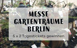 Gewinne Tickets für die Gartenträume