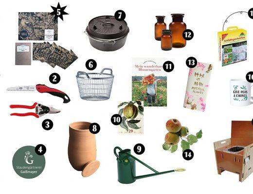 Geschenke für Gartenfreunde