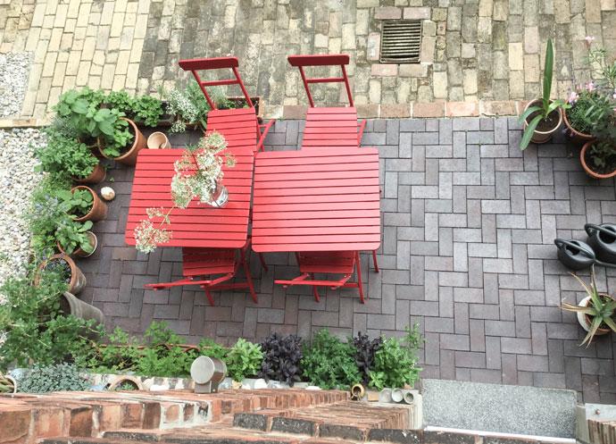 Terrasse Urban Gardening