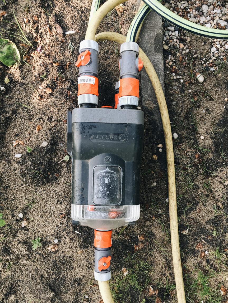 Gardena Bewässerungscomputer Wasserverteiler