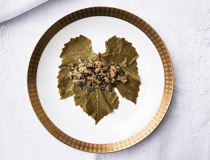 Gefüllte Weinblätter selber machen