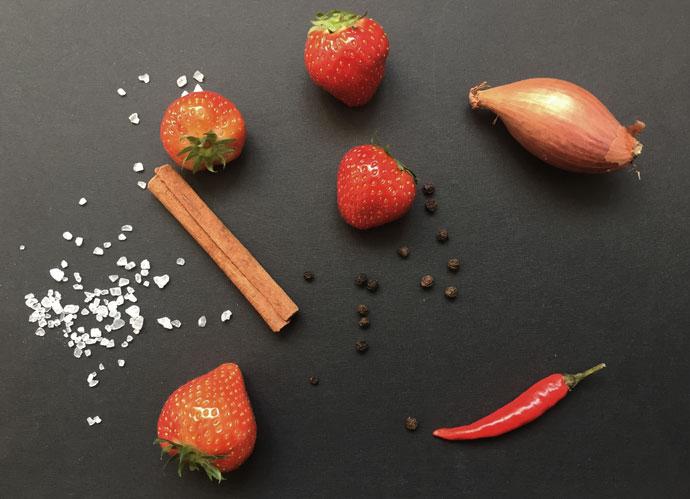 Zutaten Erdbeer-Chutney